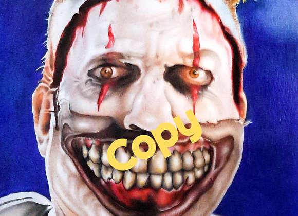 Twisty the Clown Print