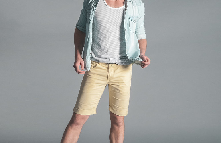 Man with Spring Outfit
