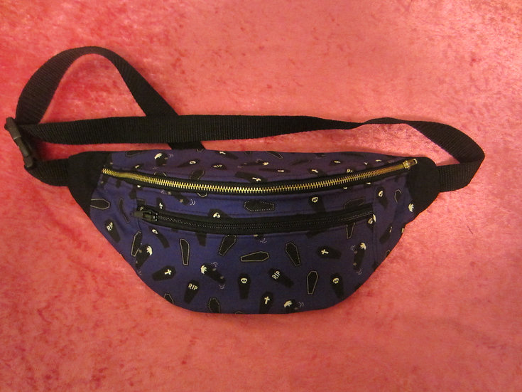 Horror Coffins Fanny Pack