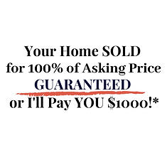 Final- Your home sold for 100% of asking