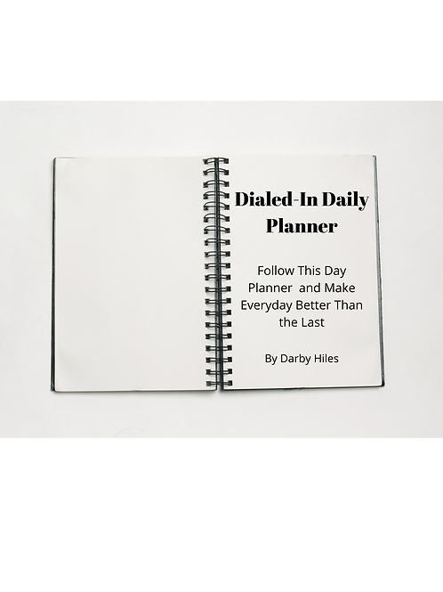 Dialed-In Daily Planner- 3 Pack