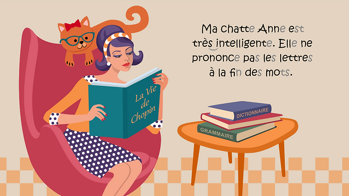 "Illustration for the article ""Welche 5 Anfängerfehler du auf Französisch nicht mehr machen solltest"" (""Which 5 beginners' mistakes you should not do in French anymore""), Babbel Magazine."