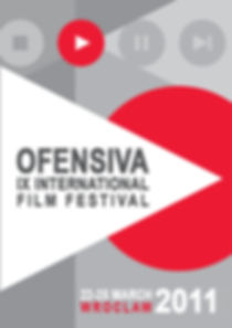 Posters for Ofensiva International Film Festival, Wroclaw, Poland.