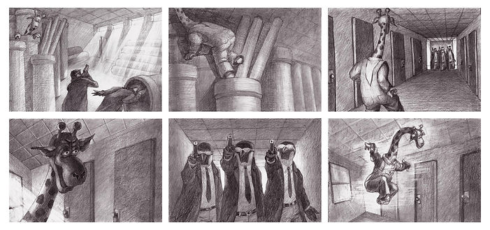 Kill Will, storyboard
