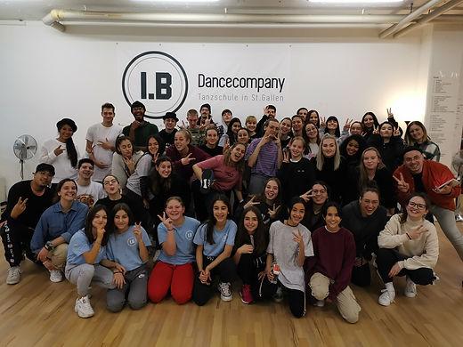 I.B. Dance Company, St. Gallen; Hip Hop-Kurse für Kinder, Jugendliche, Erwachsene, Family, Workshop weekend, Freunde, Bewegung, Bewegungssport, Community
