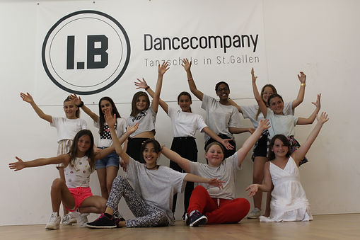I.B. Dance Company, St. Gallen; Kinder-Kurse, Hip Hop-Kurse, Breakdance