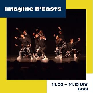 Jungkult St. Gallen; Tanzauftritt Young Beasts; I.B. Dance Company St. Gallen