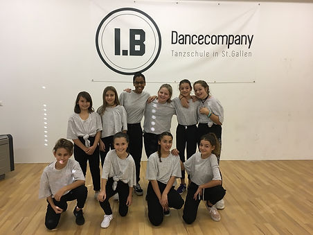I.B. Dance Company, St. Gallen; Kinder-Kurse, Hip Hop, Breakdance