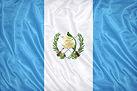 Guatemala flag pattern on the fabric tex
