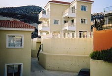 View of the side Cheap Cyprus villas are good  of our Cyprus holiday villa. Pamelas Paradise Villa