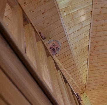 Tadeusz Wolniak schody dębowe, balustrady, parapety, meble z litego drewna