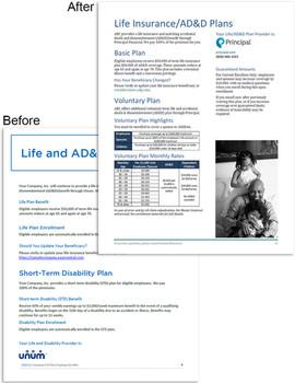 Benefits Manual Templates