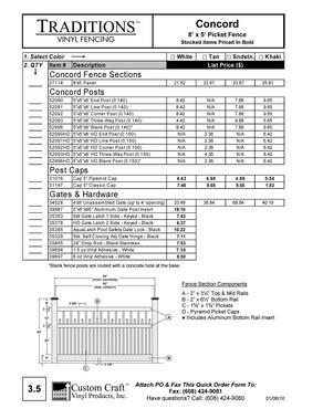 Sales Price Book