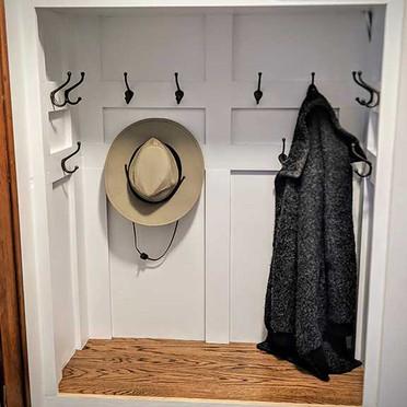 Coat Hook Nook Finish