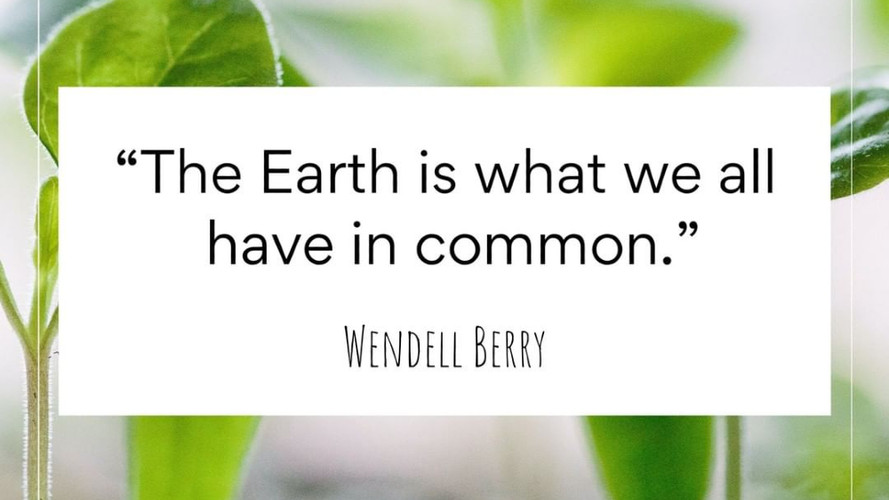 And we have to take care of it. Being environmentally conscious is being smart and responsible towards this beautiful planet we call home.