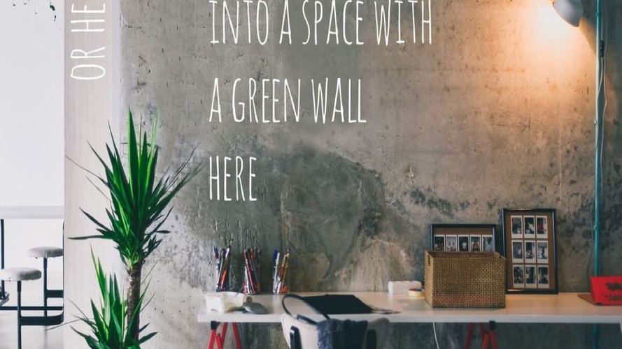It's a great option for any business that wants to enjoy the benefits of plants but has concerns about the floor space involved. Green walls add color and a unique design element to lobbies, meeting rooms, hallways and reception areas.⠀