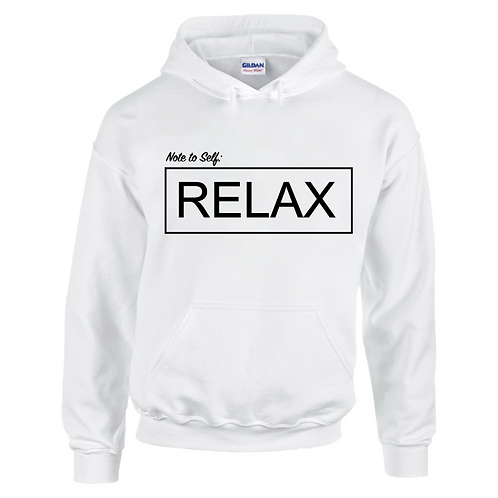 Note to Self: RELAX Kids Hoodie