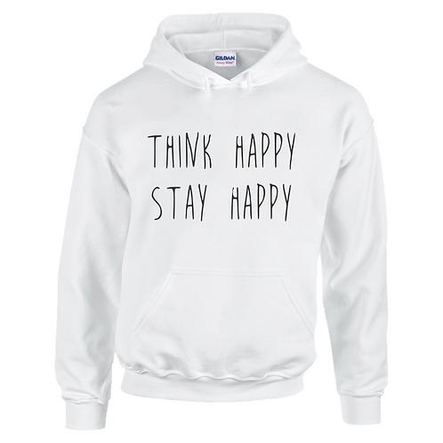 Think Happy Stay Happy Kids Hoodie