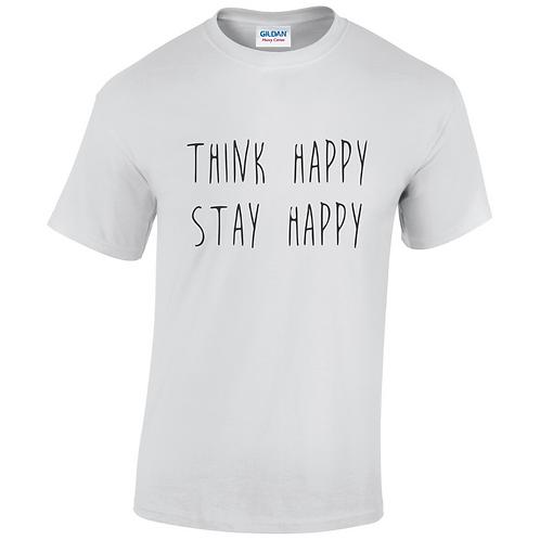 Think Happy Stay Happy Kids T-Shirt