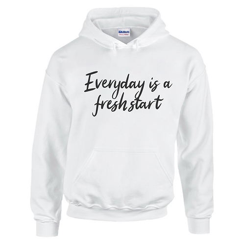 Everyday Is A Fresh Start Adults Hoodie