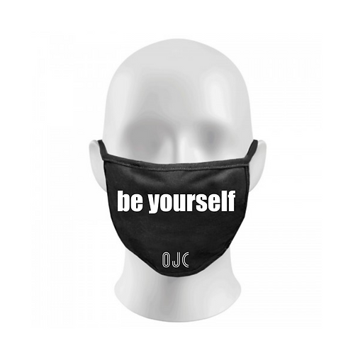 BE YOURSELF FACE MASK