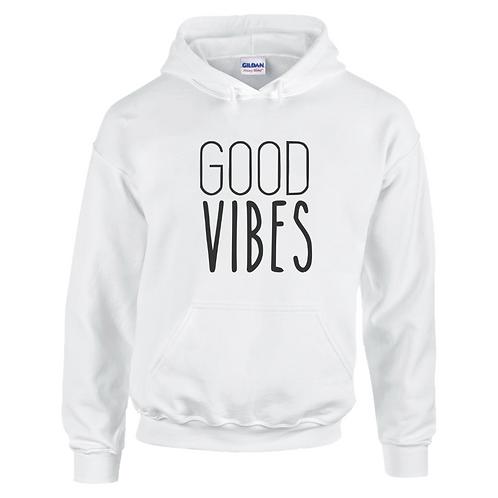Good Vibes Adult Hoodie