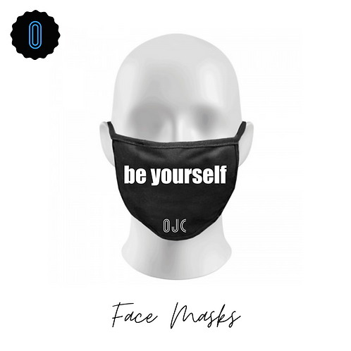 Be Yourself Face Masks