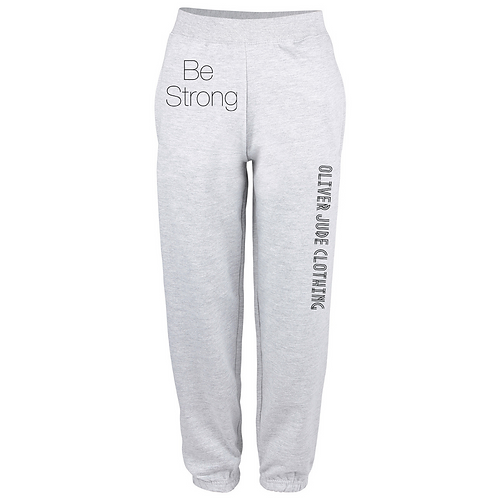 Be Strong Adults Oversized Jogging Bottoms