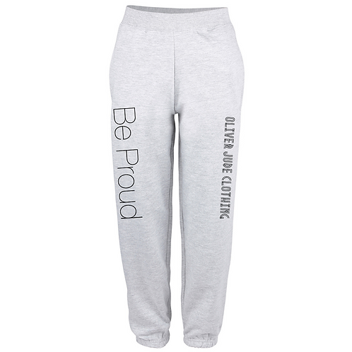 Be Proud Adults Oversized Jogging Bottoms