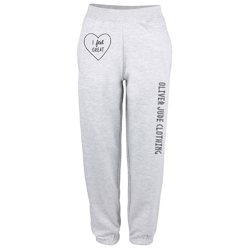 I Feel Great Adults Oversized Jogging Bottoms