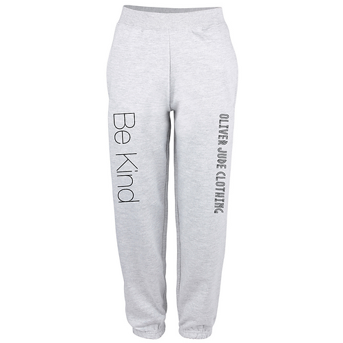Be Kind Adults Oversized Jogging Bottoms