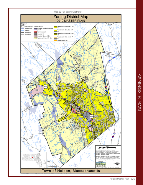 Zoning District Map