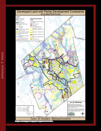 Developed Land with Partial Development Constraints