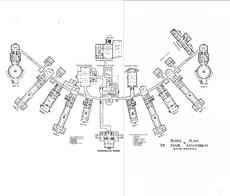 Rutland Heights State Hospital Block Plan ca. 1908