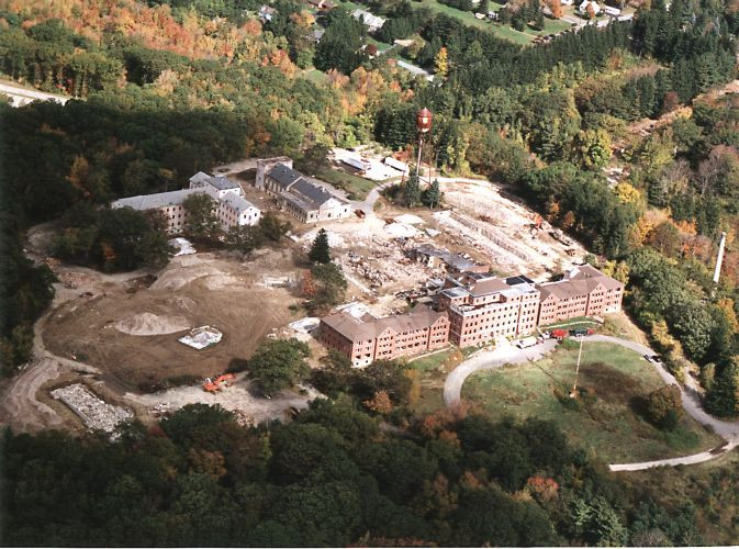 Demolition of Rutland State Hospital