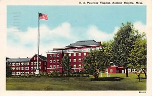 Veterans Hosptial Rutland Heights, Postcard