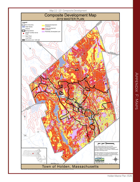 Composite Development Map