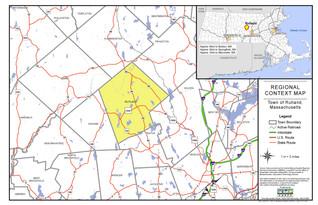 Rutland Regional Context Map