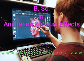 B.Sc. in Animation and Visual Effects: Introduction, Courses, Eligibility, Admission, Career Prospec