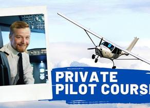 PRIVATE PILOT CERTIFICATE COURSE