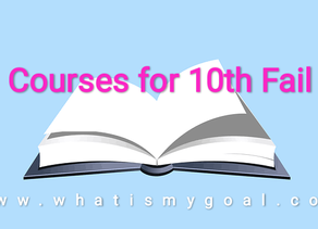 COURSES FOR 10TH FAILOUTS