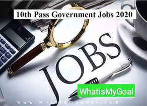 Government Jobs for 10th pass