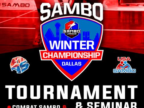 The Sambo Winter Championship in ( Dallas,TX)!