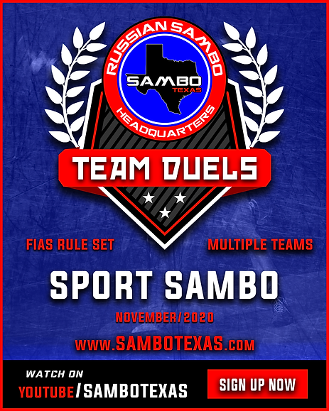Russian Sambo, Sambo Texas Team Duel Nov