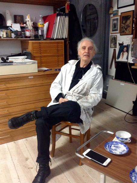Gérard Gasquet, peintre de l'invisible