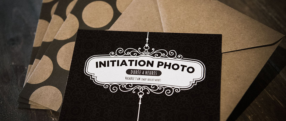 Initiation photographique