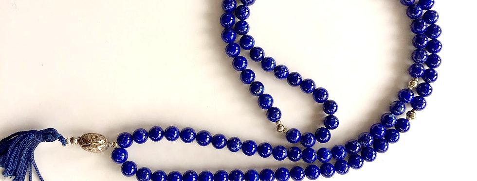 Lapis Lazuli 108 Bead Mala