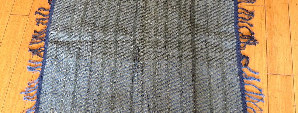 Square Grey Tone Rug