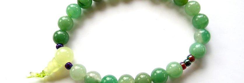Green Aventurine Wrist Mala