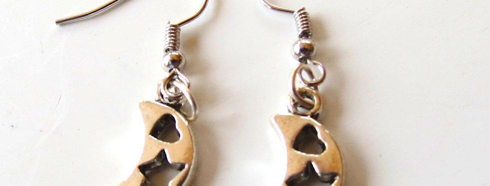 Moons Earrings
